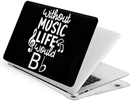 Without Music Life Case for MacBook Pro 13 Inch Slim Fits with A2159 A1989 A1706 A1708 Hard product image