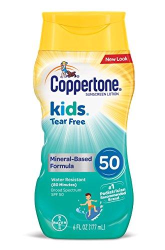 Coppertone Spf#50 Waterbabies Tear-Free 6 Ounce Lotion (177ml)