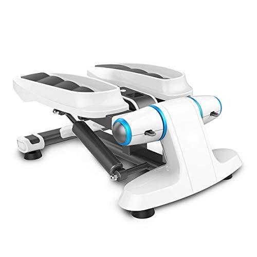 TATANE Home Swing Stepper, Equipamiento Mini Entrenadores Up-Down Maquina eliptica Aerobio Gimnasio Ejercicio Entrenamiento tonificante Pierna Muslo Fitness para Adelgazar Entrenamiento