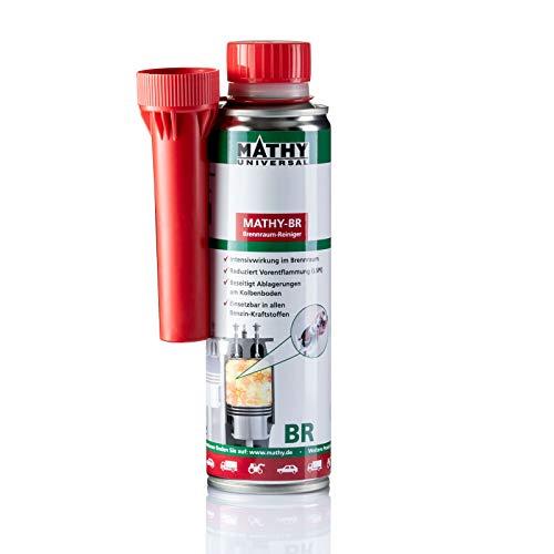 MATHY-BR Brennraumreiniger Benzin - Benzin Additiv - Kolbenring Reiniger - geeignet für Downsizing-Motoren - Kraftstoffadditiv Benzin Motoren