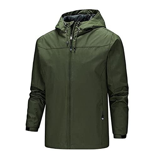 Color sólido hombres abrigo ropa deportiva al aire libre otoño chaqueta masculina ligero