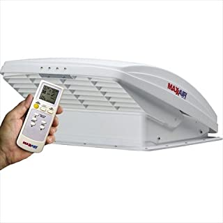 Maxxair 0007000K MaxxFan Deluxe Fan with Remote and White Lid
