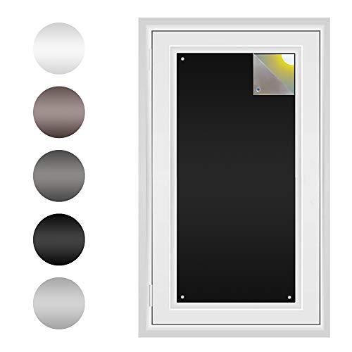 Sonnenschutz auf Maß | Perfekt Velux und Roto Fenster | Made in Germany | Ohne Bohren | Sonnenschutz und Sichtschutz