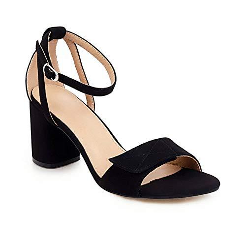 NC Fashion Block Heels Sandals Women Shoes Classic Black Beige Women's Sandals Summer Shoes Elegant Peep Toe Brand Sandals 2021