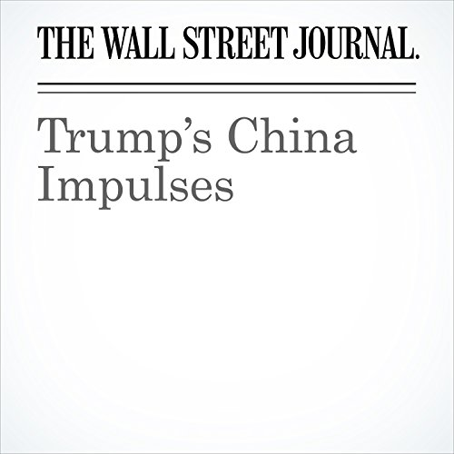 Trump's China Impulses copertina