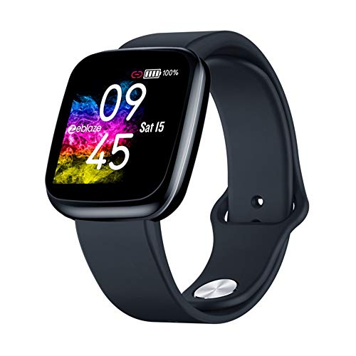 AMBM Smartwatch,Reloj Inteligente Pulsera Actividad con Pulsómetro Podómetro Calorie Monitoreo del sueño Impermeable Relojes Inteligentes para Hombre Mujer para Android iOS