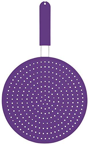 Colourworks  Silikon-Spritzschutz, 28 cm – Violett