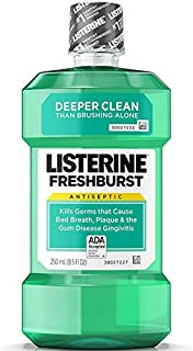 Listerine Freshburst Antiseptic Mouthwash with Germ-Killing Oral Care Formula to Fight..