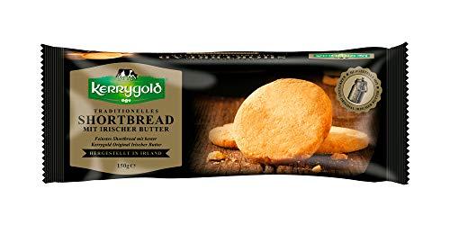 Kerrygold Shortbread Original - Irish Butter Biscuits - Traditionelles Irisches Mürbeteiggebäck, 150 g