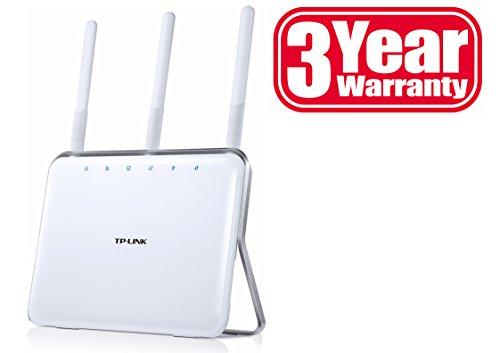 TP-Link Archer C8 AC1750 WLAN Dualband Gigabit Router (für Anschluss an Kabel-/DSL-/Glasfasermodem 802.11b/g/n/ac, 1750MBit/s, LAN, WAN, USB 3.0, USB 2.0)