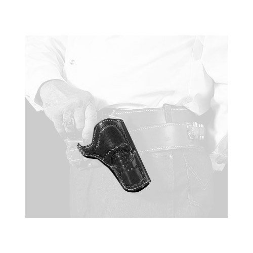 DeSantis DOC Holiday Cross Draw Holster fits 3 1/2-Inch Colt SAA, Right Hand, Black