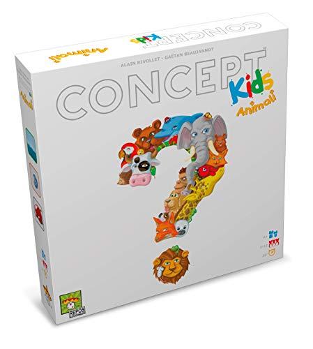 Asmodee - Concept Kids Animales Juego de Mesa para Toda la Familia, 8642
