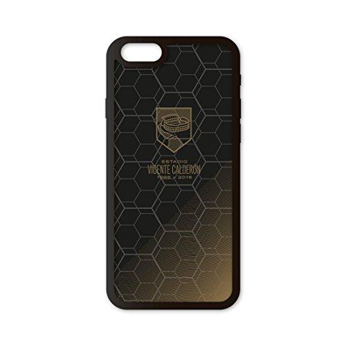 Funda móvil Atlético de Madrid Firma Jugadores Compatible con iPhone 6/6s. Carcasa de TPUde Alta protección. Funda Antideslizante, Anti choques y caídas.