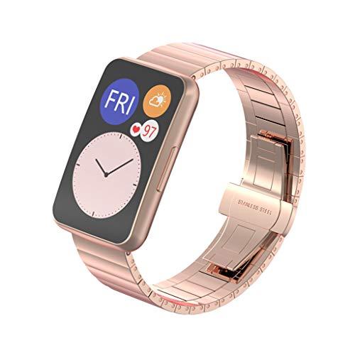 Viesky Edelstahl-Armband für Huawei Watch Fit Watch