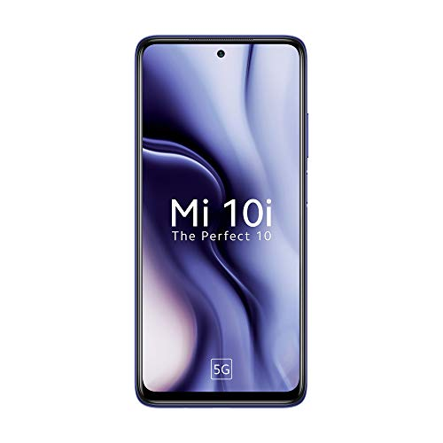 Mi 10i 5G (Atlantic Blue, 6GB RAM, 128GB Storage) -...