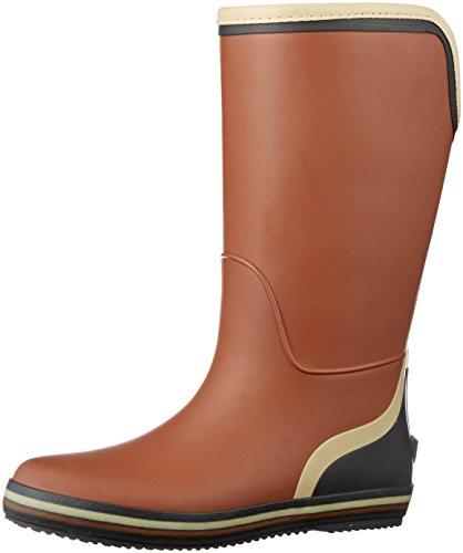 [アキレス] レインブーツ 長靴 作業靴 レインシューズ 軽量 ガーデニング レディース ILB 1340 レンガ 22.5~23.0 cm