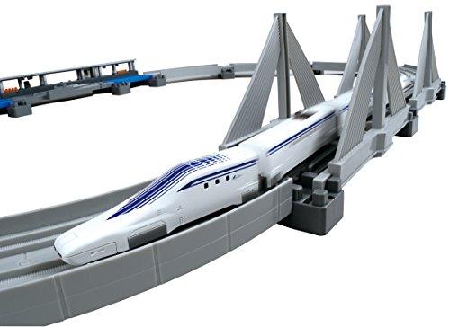 プラレールアドバンス超電導リニアL0系高架レールセット
