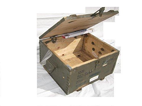 Unbekannt Caja de Madera Rusia Militar Caja para Granada de Mano Shabby Chic Vintage, Caja, Caja, 34cm