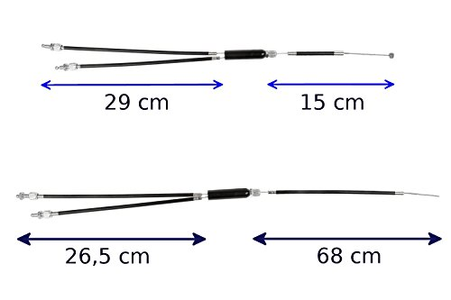 Eigenmarke BMX Bremszug Lenker zum Rotor oder Rotor zum Hinterrad Innenzug Außenzug (Rotor zum Hinterrad)