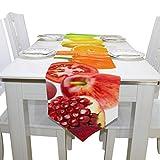 Yushg Mais Gemalt Gemüse Obst Kommode Schal Tuch Abdeckung Tischläufer Tischdecke Tischset Küche Esszimmer Wohnzimmer Haus Hochzeit Bankett Dekor Innen 13x90 Zoll