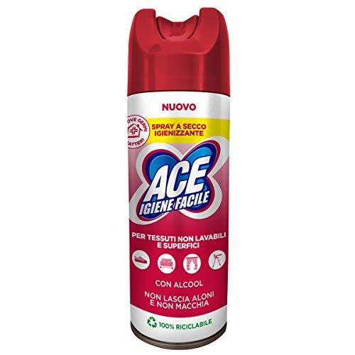 ACE Spray Igienizzante a Secco, Cartone Da 12 Spray 300ml