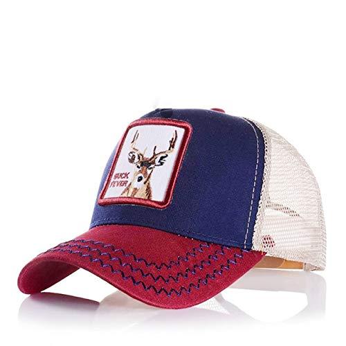 New Men's Baseball Cap Women Snapback Hip Hop cap Summer Mesh hat trucker cap gorra dad hat-a34