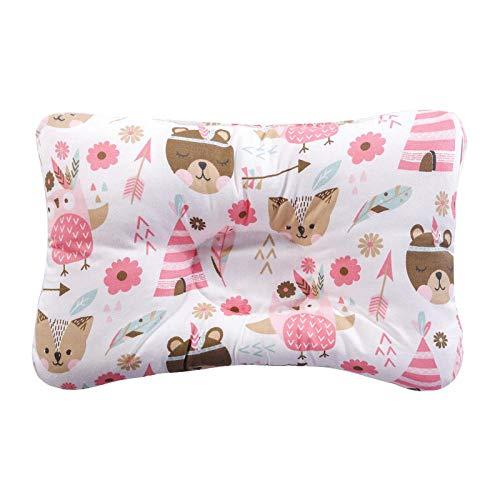 SFBBBO Cuscino Cuscino per L'Allattamento Cuscino per Il Sonno Neonato Supporto per Il Sonno concavo Cuscino Modellante Stampato Prevenire la Testa Piatta NO7