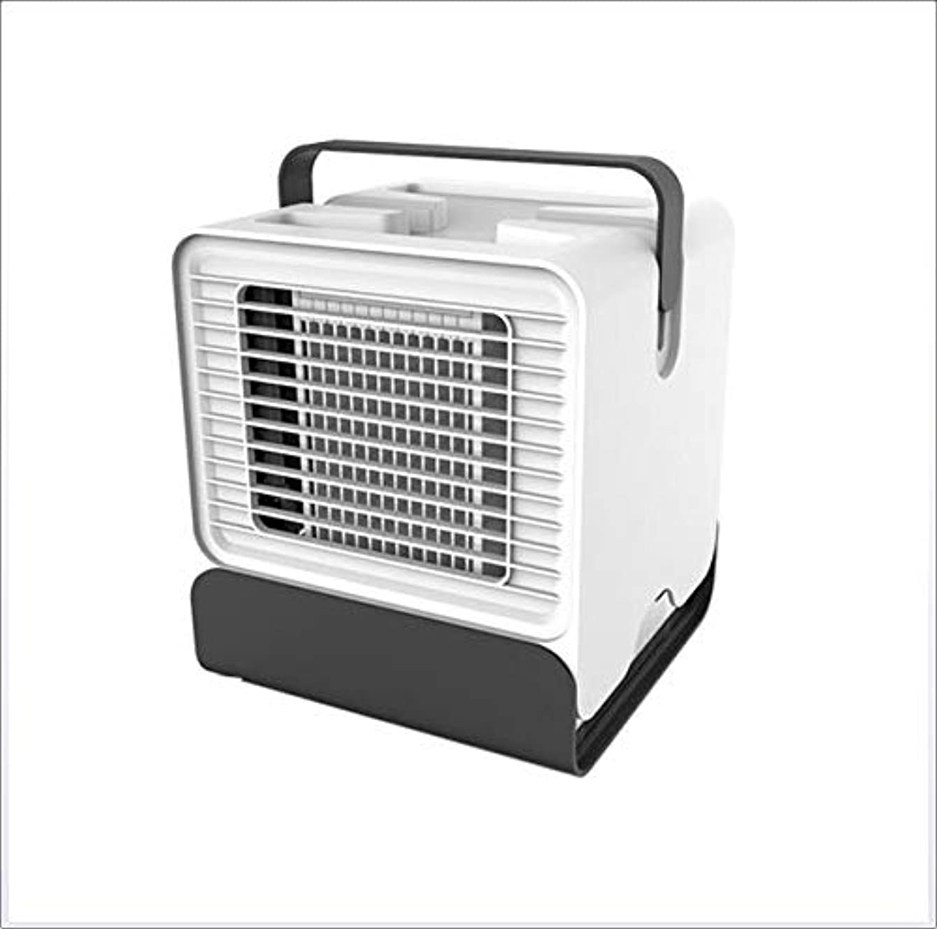 DJG Portable Air Conditioning Fan, Air Cooler, Personal Air Cooler, USB Desktop Mini Cooling Fan, Evaporative Cooler, Suitable for Office, Indoor, Outdoor