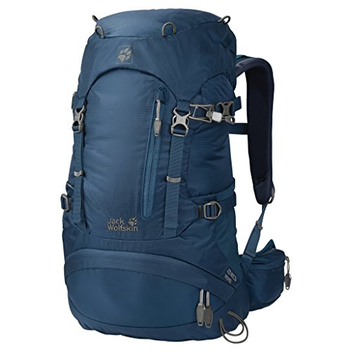 Jack Wolfskin Kinder ACS Hike 24 Women Pack Rucksack, Ocean Wave, 55 x 32 x 15 cm