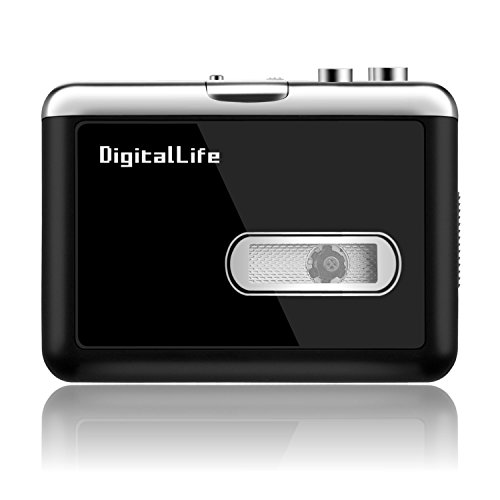 Cassette Player Tape to MP3 Converter Retro Walkman Auto Reverse Protable Audio Tape Player ...