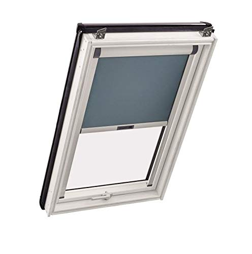 Komplettpaket Sunblock Roto Dachfenster aus Kunststoff inkl. Verdunkelungsrollo V06 (Eindeckrahmen: ZIE, 114 x 140)