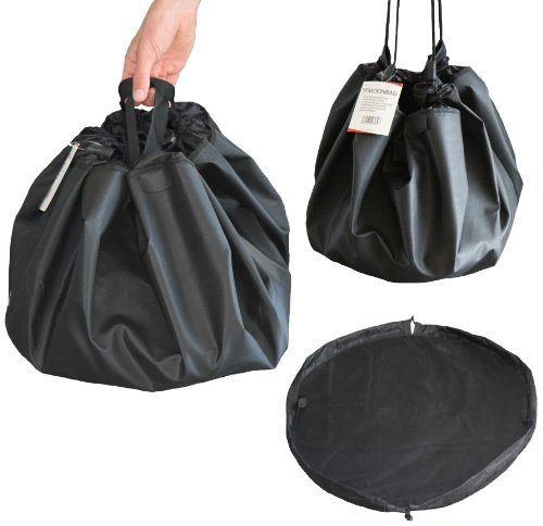 Frostfire Moonbag (Schwarz) - Schwerlast Wickelauflage und Beutel, ideal für Wassersport, Schwimmen und im Freien