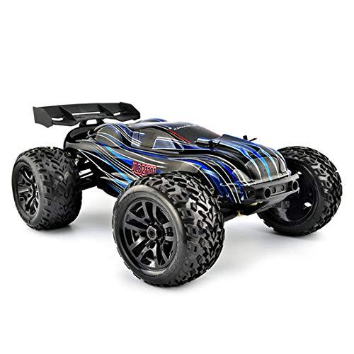 Neues RC Car im Maßstab 1:10 4WD 2,4 GHz Offroad-Fernbedienungsauto Wasserdichter bürstenloser Motor, einfaches Ladegerät, Geschwindigkeit 70-80 km/h ferngesteuerte Autos für Erwachsene