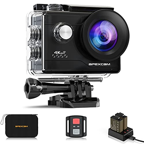 Apexcam -   4K Action cam 20MP