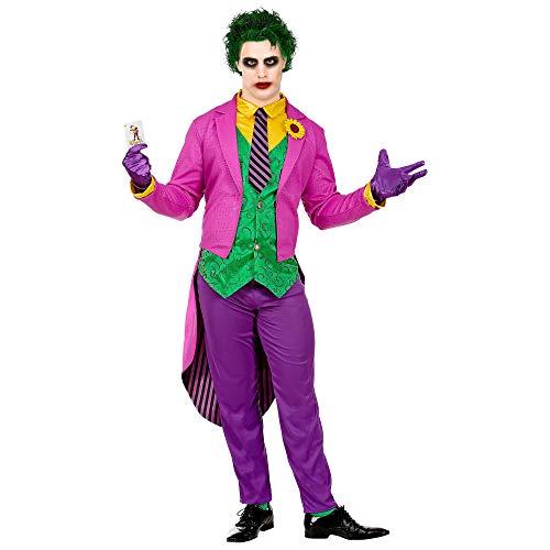 WIDMANN Srl disfraz Mad Joker hombre y adultos, Multicolor, wdm08023