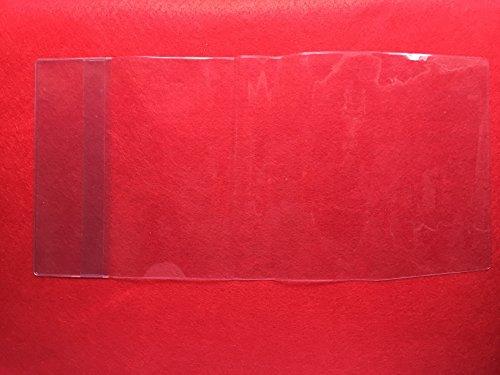 『御朱印帳カバー 高透明 厚手クリア 小(縦16㎝×幅11㎝用)1枚入』の2枚目の画像