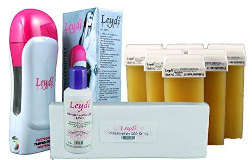 Leydi EASY Wachspatronenset Honig - besonders schnelle Haarentfernung mit Warmwachs zu Hause