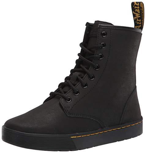 Dr. Martens Men's Lace Fashion Boot, Black Mohawk, 7