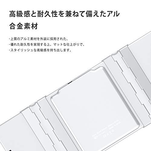 41VPysq+b2L-折り畳み式フルキーボードの「iClever  IC-BK05」を購入したのでレビュー!小さくなるのはやっぱ便利です。