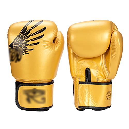 Boxing gloves Guantes de Boxeo Guantes de Muay Thai para Adultos Fighting Sanda Fighting Training Guantes Rebote cómodo y Transpirable