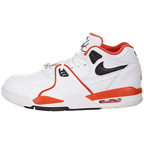 Nike Air Flight 89 EMB (Rucker Park), (White / Black-Team Orange), 46 EU