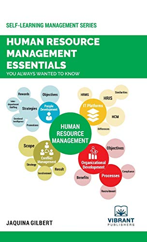 Compare Textbook Prices for Human Resource Management Essentials You Always Wanted To Know Self-Learning Management 1 Edition ISBN 9781949395853 by Vibrant Publishers,Jaquina Gilbert