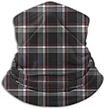 N/A Fleece Neck Warmer Gaiter Golf GTI Plaid Soft Microfiber Headwear Face Scarf Mask For Winter Cold Weather & Keep Warm For Mens Womens