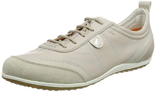 Geox D Vega 322, Zapatillas para Mujer, Beige (Lt Taupe), 37 EU