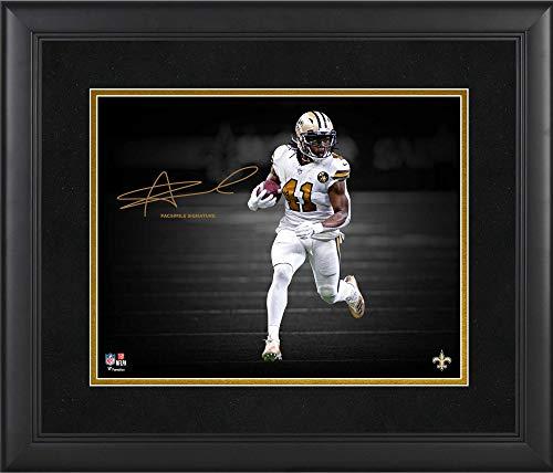 "Alvin Kamara New Orleans Saints Framed 11"" x 14"" Spotlight Photograph - Facsimile Signature - NFL Player Plaques and Collages"