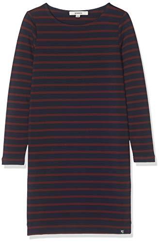 Garcia Kids Mädchen I92485 Kleid, Mehrfarbig (Dark Moon 292), 140 (Herstellergröße: 140/146)