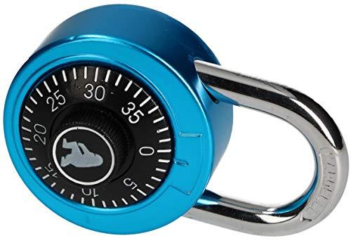 KOTARBAU® Kombinationsbügelschloss 50 mm Rund Kombinations-Zahlenschloss Kombinationsschloss Vorhängeschloss Einbruchsicherung