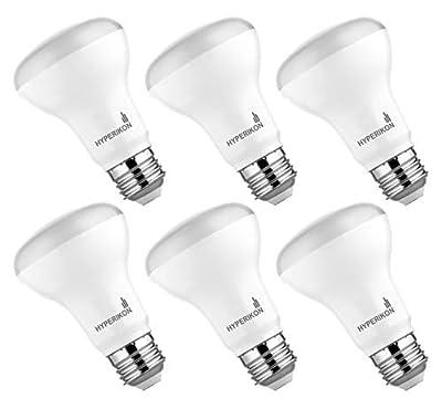 Hyperikon BR20 LED Bulb Dimmable 7W=50W, Flood Light, UL, Energy Star, Daylight White, 6 Pack