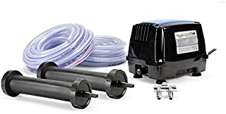 Aquascape Pro Air 60 Pond Aerator and Aeration Kit with Tubing and Self-Cleaning Diffusers, Out-door Rated | 61008