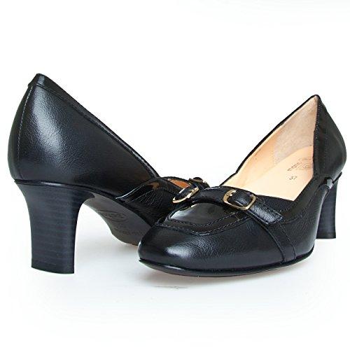 Scholl Dr BEGORGEOUS F229701004 Damen Pumps Damenschuhe EU 35, UK 2.5 Leder Schwarz Black
